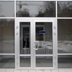 Заказать алюминиевые входные двери с установкой в Череповце