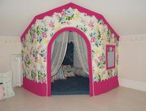 Текстильное оформление детской комнаты!