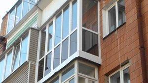 Тонировка балкона, лоджий