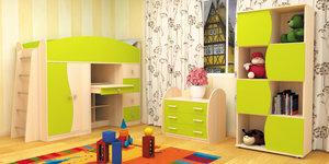 """Яркая и безопасная мебель для вашей детской от """"Геос Мебель"""""""