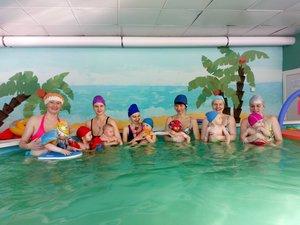 Занятия в бассейне для детей и взрослых Вологда
