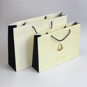 Бумажные пакеты с нанесением логотипа компании