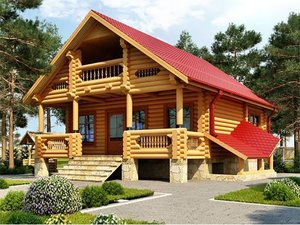 Дома из бревна под ключ в Череповце