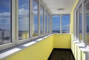 Заказать пластиковый балкон в Вологде