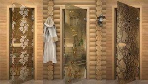 Купить двери для бани с термостойким уплотнителем