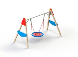 Выбирайте качели для детской площадки. Прочные и надежные конструкции!