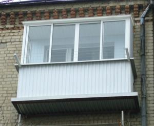 Пластиковый балкон на заказ в Вологде