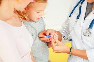 Безболезненный забор анализов у детей