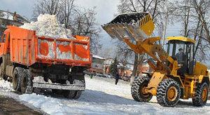 Заказать вывоз снега с частного объекта в Вологде