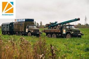 Бурение скважин по направлению Вологда - Сямжа - Тотьма - Нюксеница