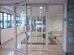 Двери алюминиевые внутренние Череповец