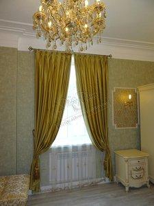 Свежие фотографии наших работ с текстильным оформлением гостиной в стиле современной классики