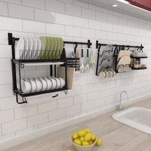Рейлинг на кухне – удобное размещение кухонных мелочей