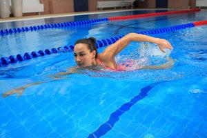 Активные занятия в бассейне - укрепляем здоровье!