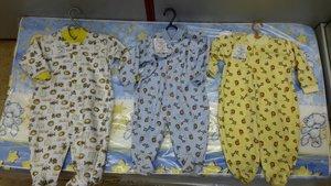 Одежда для новорожденных. Большое поступление воронежского трикотажа!