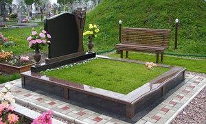 Варианты благоустройства захоронений на кладбище