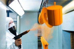 История появления технологии порошковой краски