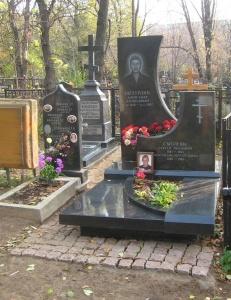Изготовление памятников из черного габбро
