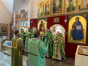 Престольный праздника храма Преподобного Сергия Радонежского.