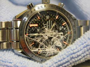 Замена стекла на механических часах