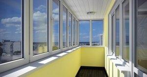 Застеклить балкон в Вологде