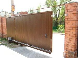 Установка откатных ворот в Череповце