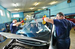 Замена лобовых стекол на легковых автомобилях