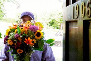 Купить цветы с доставкой на дом в Череповце