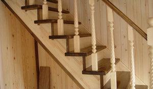 Тетива для лестницы из дерева на заказ