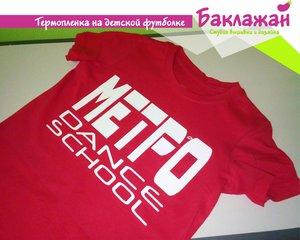 Печать изображений на футболках в Череповце