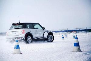 Зимнее вождение обучение