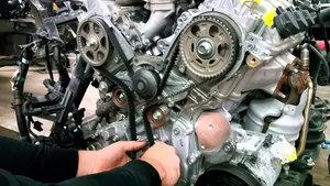 Замена ГРМ на 1. 6 (двигатель объёмом 1. 6) Череповец