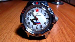Наручные командирские часы в наличии