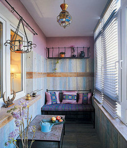 Нескучный дизайн балкона - стильные идеи на любой вкус!