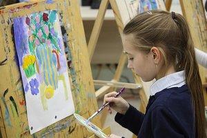 Школа рисования для детей с 5 лет