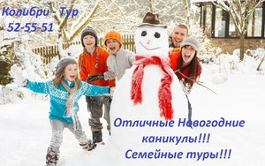 Туры по России. Насыщенная экскурсионная программа на Новый год 2016!!!
