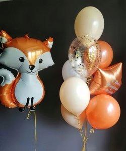 Воздушные шарики для детей со зверятами
