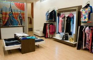Торговое оборудование для магазина одежды в Красноярске