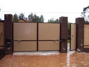 Изготовление и установка ворот в Череповце и Череповецком районе