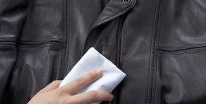 Как почистить кожаную одежду?