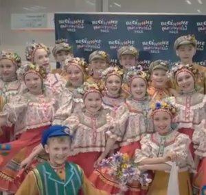 Ансамбль БУБЕНЦЫ, младший концертный состав КАЛИНКИ, получил Гран-при на фестивале в Казани
