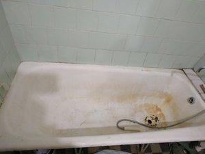 Реставрация ванны чугунной
