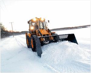 Очистка от снега и его вывоз