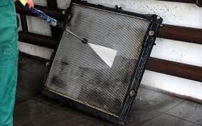Мойка чистка радиатора