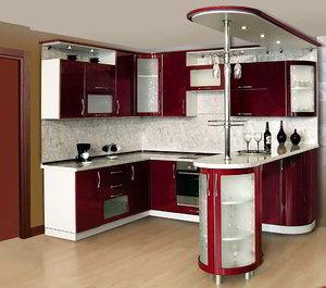 Кухонная барная стойка под заказ Череповец