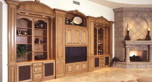 Купить шкаф из массива для гостиной
