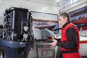 Ремонт лодочных моторов в Череповце