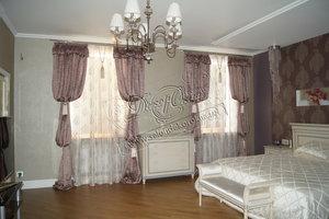 Индивидуальный пошив штор в спальню в Вологде