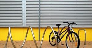 Уличная велопарковка из нержавейки