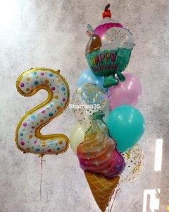 Воздушные шары для сладкоежек